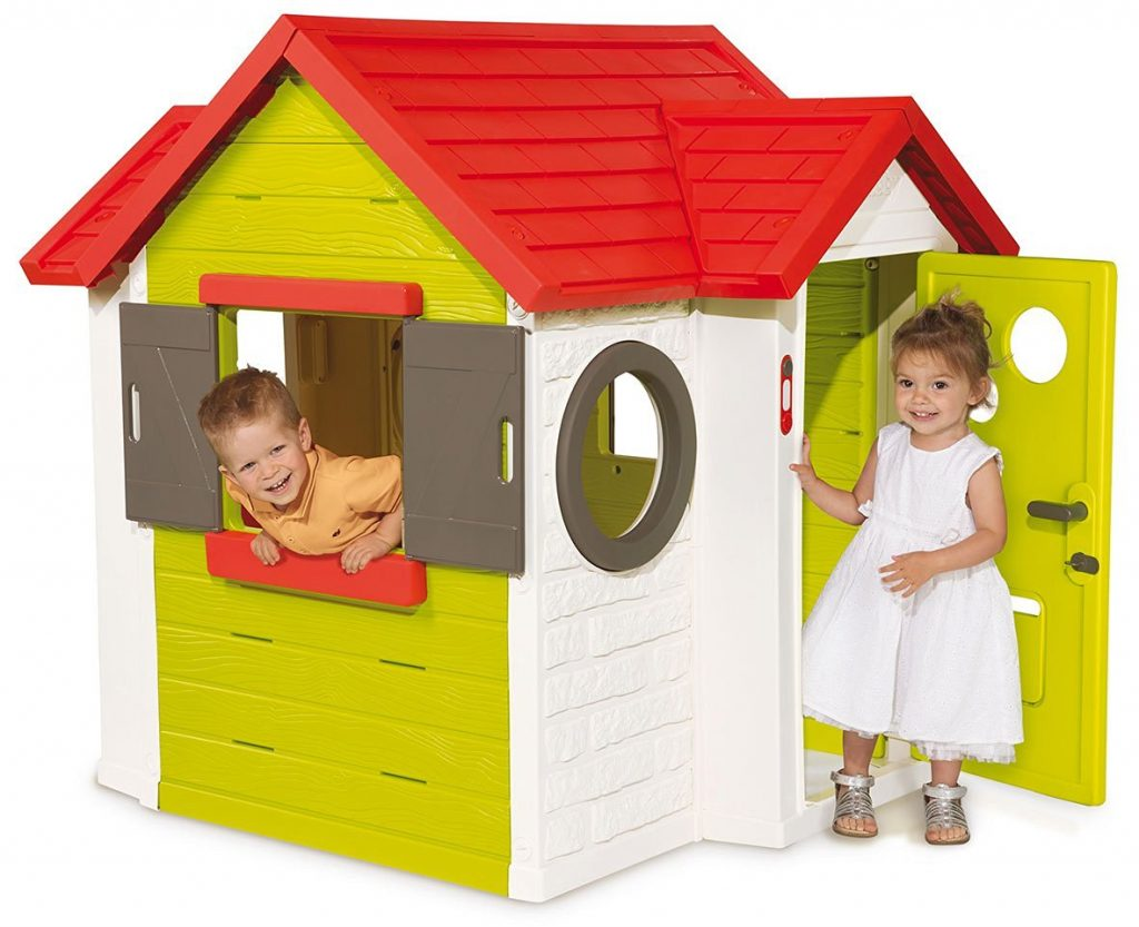 une super mini maison pour enfants la smoby my house cabane. Black Bedroom Furniture Sets. Home Design Ideas