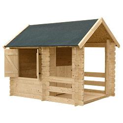 Une maisonnette inventer la maisonnette en bois tao for Cabane de plage bois